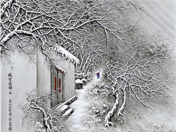 大雪节气,飞琼起舞