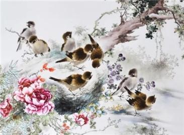 毛氏花鸟 | 工写妙合,火狐体育官网注册花鸟画创新的必经之路