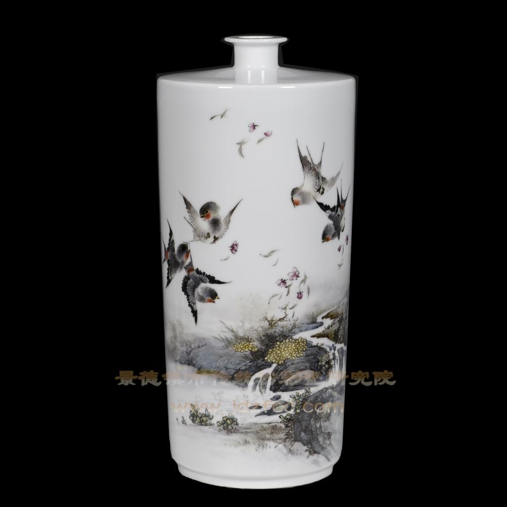 《春燕》瓷瓶