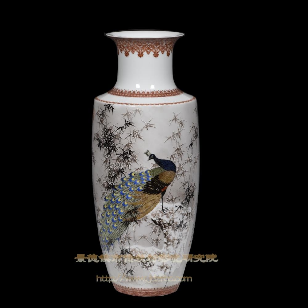 《清玕锦翎》瓷瓶