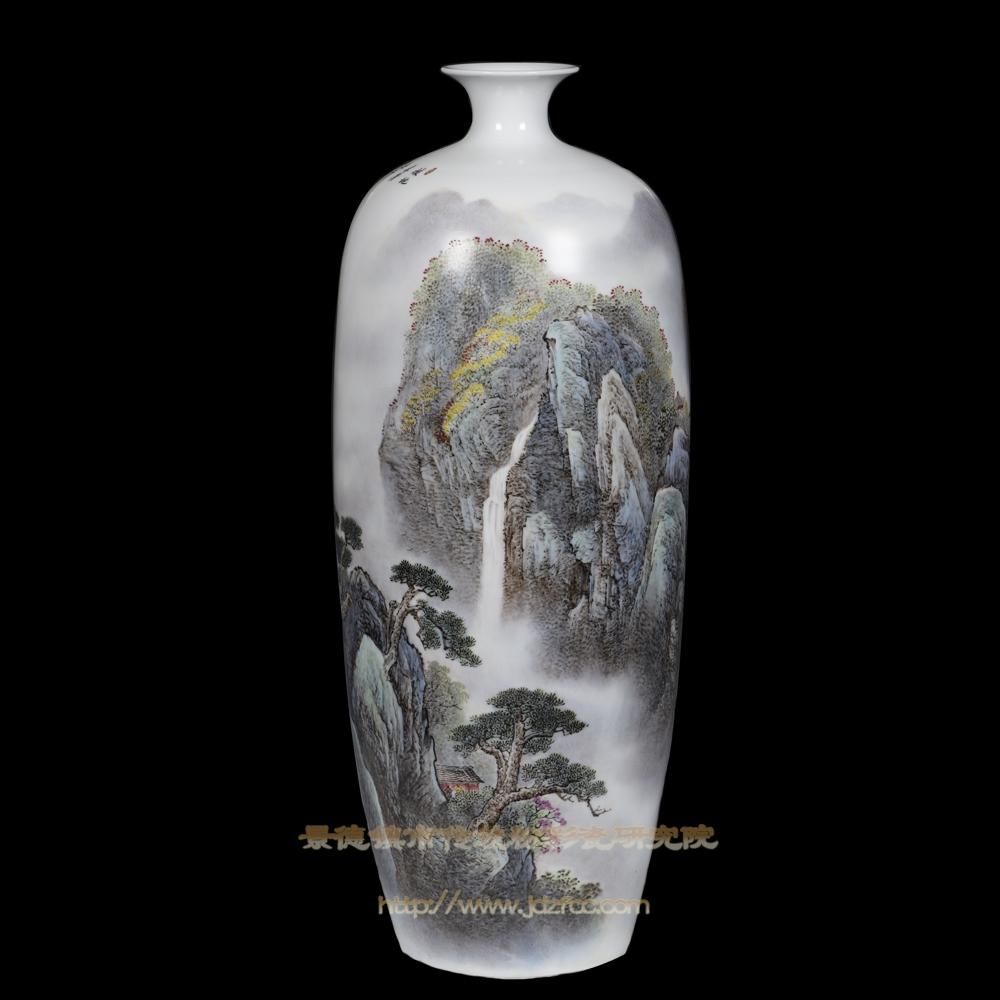 《拔地青苍五千仞》瓷瓶